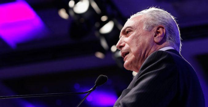 Presidente Michel Temer. Foto: Beto Barata/PR